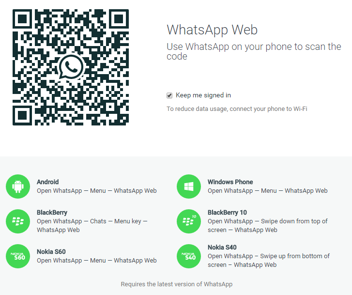 WhatsApp Browser Client