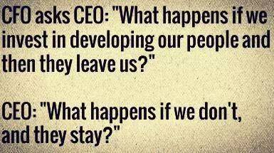 CEO asks CFO about developing people